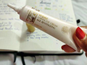 Vasu Age Revitalizing Under Eye Cream -One of my favorite eye cream-By jenna__