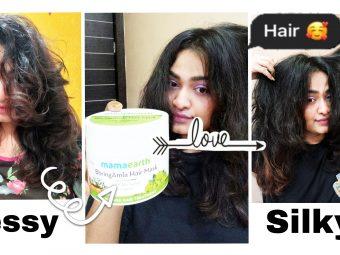 Mamaearth BhringAmla Hair Mask -best ever mask-By vedika_sutar