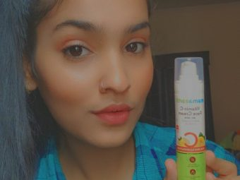 Mamaearth Vitamin C Face Cream pic 4-Leaves you with a glowy skin-By meyharrr