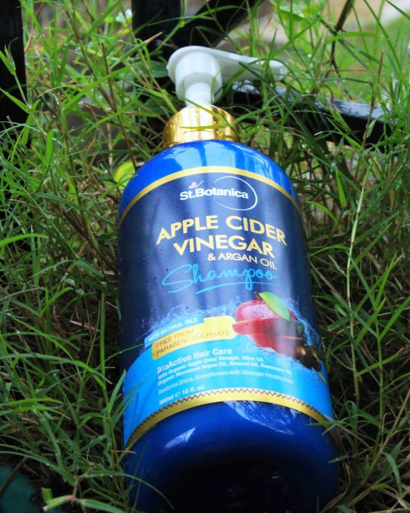 St.Botanica Apple Cider Vinegar & Argan Oil Hair Shampoo-Best in the market-By sassy_supriyo