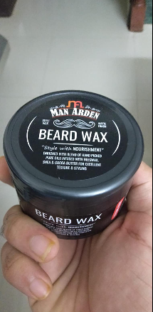 Man Arden Beard Wax – Strong Hold with Matte Finish-Perfect product-By om_patel