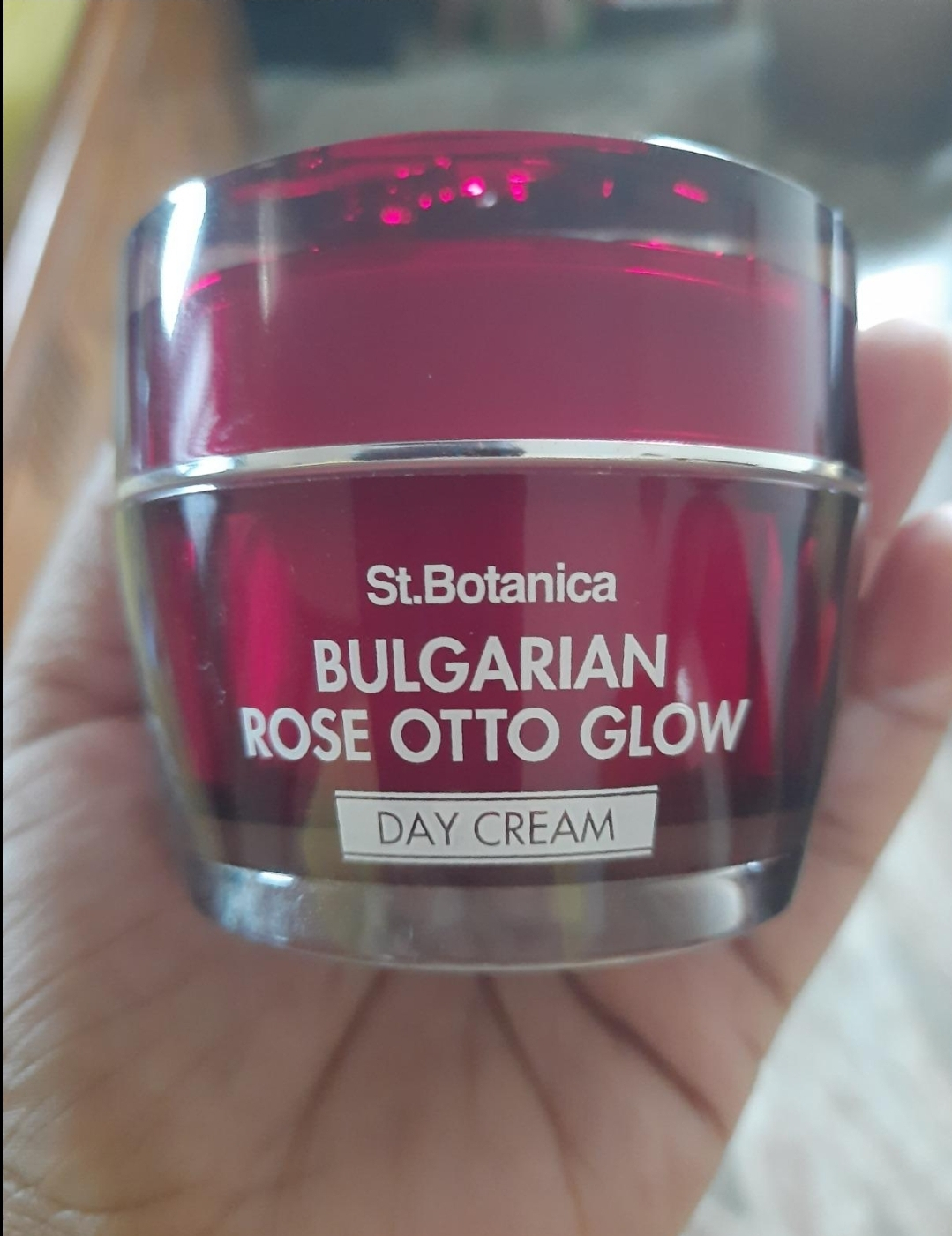 St.Botanica Bulgarian Rose Otto Glow Day Cream pic 2-Amazing Day Cream!-By satzworldlylifestyle_satabdi_das_sen