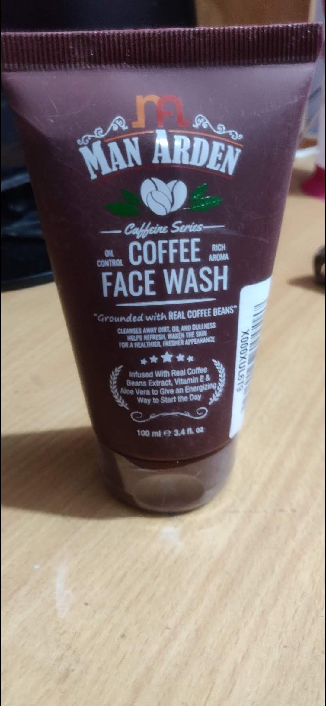 Man Arden Recharge Coffee Face Wash -Awesome Product-By eat_therapy