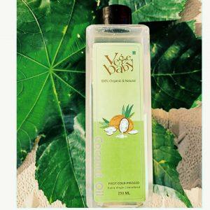 Vegebaby Natural Cold Pressed Extra Virgin Coconut Oil -Superb oil-By mukta_phutela