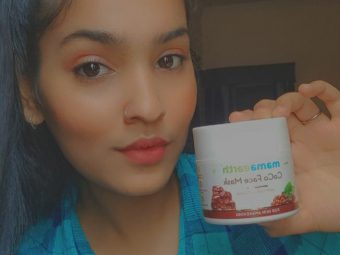 Mamaearth Coco Face Mask With Coffee & Cocoa -Love the scent and texture.-By meyharrr