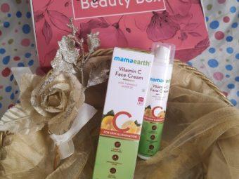 Mamaearth Vitamin C Face Cream -Combination of day cream and sunscreen-By navbamrah