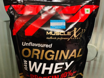 MuscleXP Raw Whey Protein 80% Powder Unflavoured -A complete Whey protein-By heerasharma
