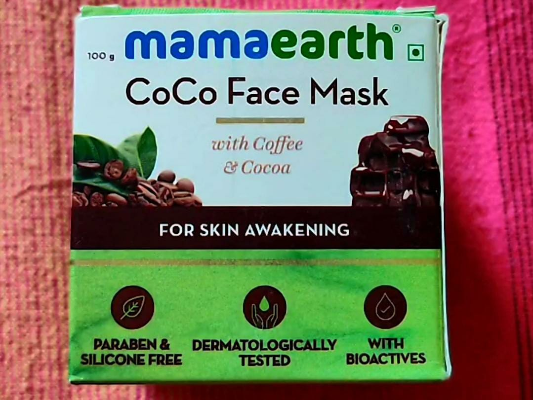 Mamaearth Coco Face Mask With Coffee & Cocoa-smells divine, non-drying-By theappetizingfactor