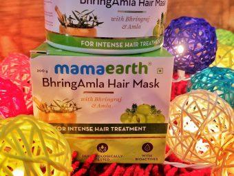 Mamaearth BhringAmla Hair Mask -Amazing remedy for dry hairs-By rashi.choudhary@live.com