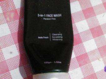 Organic Harvest Skin Lightening Face Wash -a facewash to hold on for travelling-By priya_ann