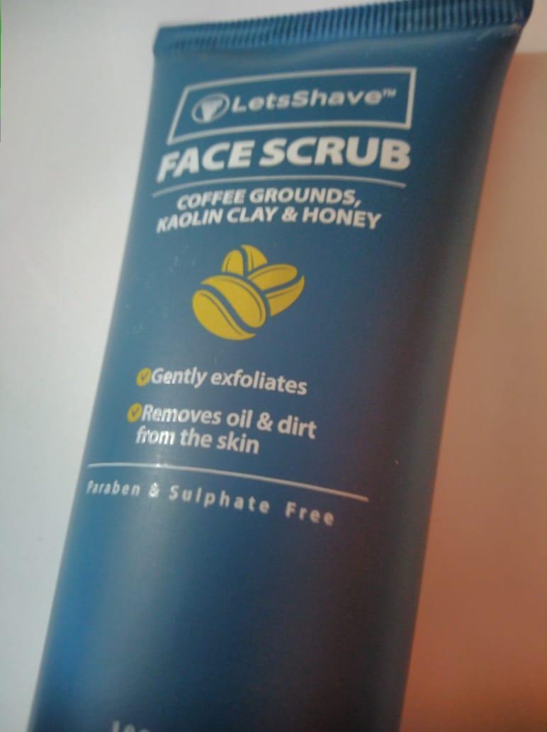 LetsShave Face Scrub -Amazing Scrub-By heena02