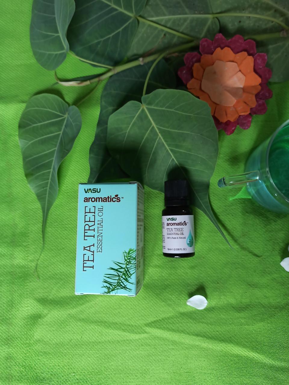 Vasu Aromatics Tea Tree Essential Oil-One of the best tea tree oils-By _vansheeka