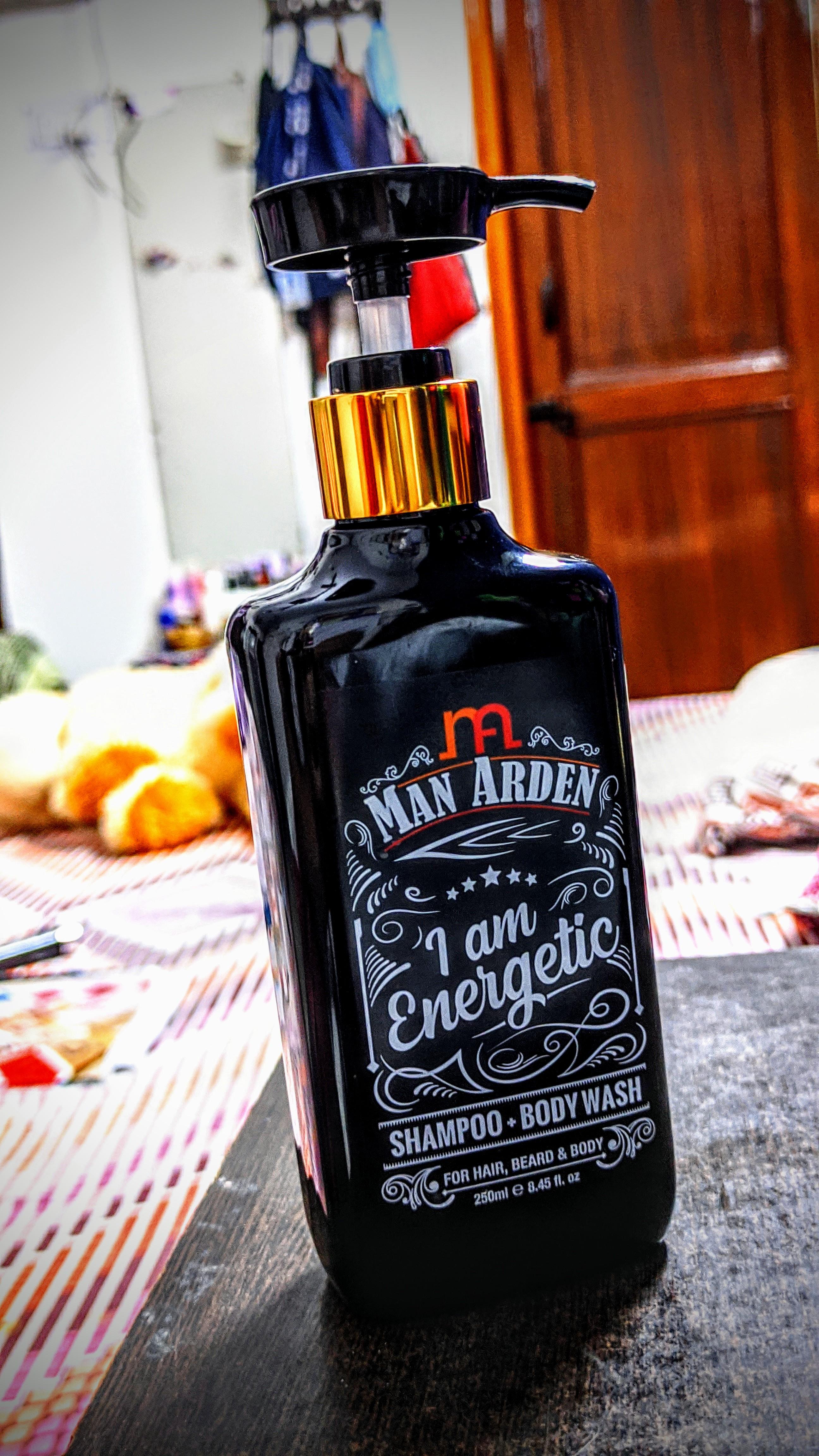 Man Arden I Am Energetic Shampoo Body Wash pic 1-Long Lasting fragrance-By born_foodie