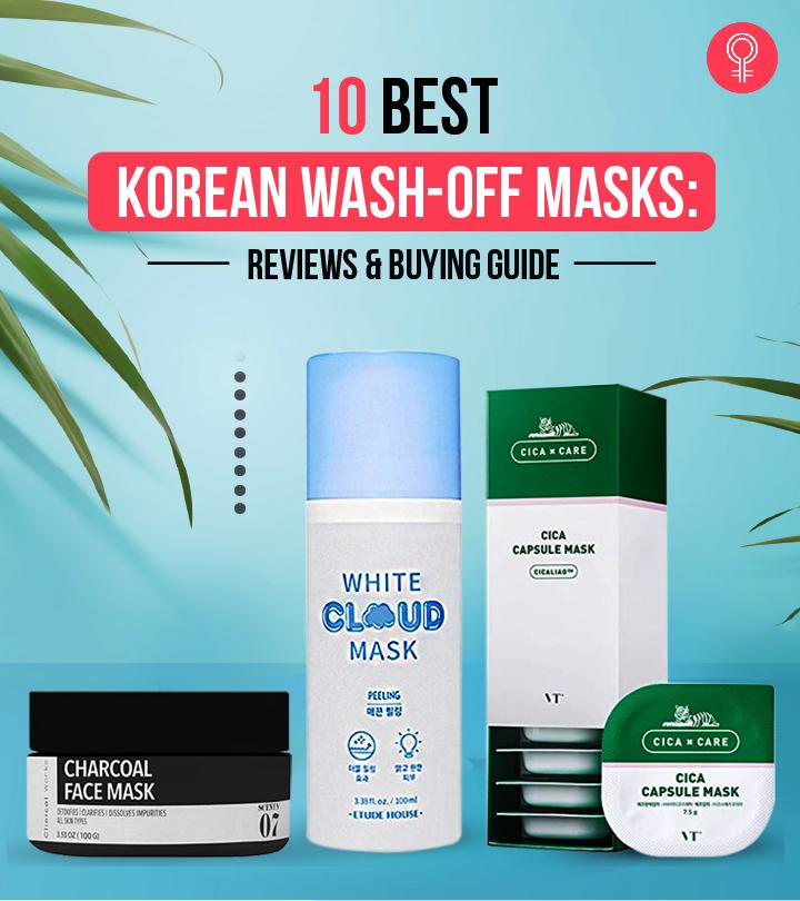 10 Best Korean Wash-Off Masks For Glowing Skin – 2020