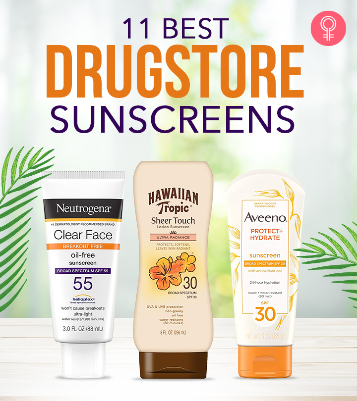 11 Best Drugstore Sunscreens To Protect Your Skin From UV Rays