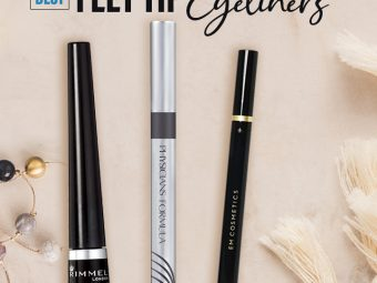 11 Best Waterproof Felt Tip Eyeliners For Bold Winged Eyes