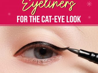 12 Best Eyeliners For The Cat-Eye Look