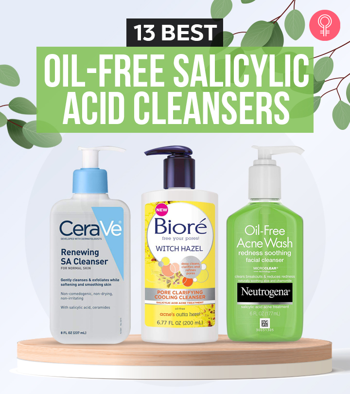 13 Best Oil-Free Salicylic Acid Cleansers To Reduce Acne