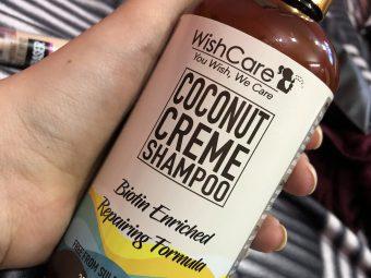 WishCare Coconut Creme Shampoo With Biotin -Amazing!!!-By abhipriya_sagar