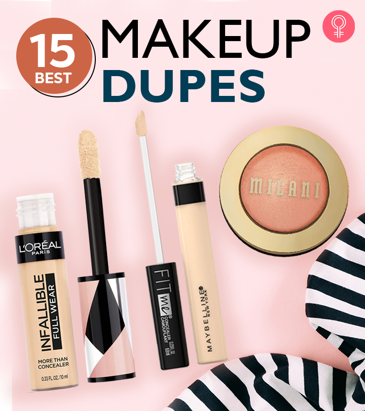 15 Best Makeup Dupes For High-End Makeup Products