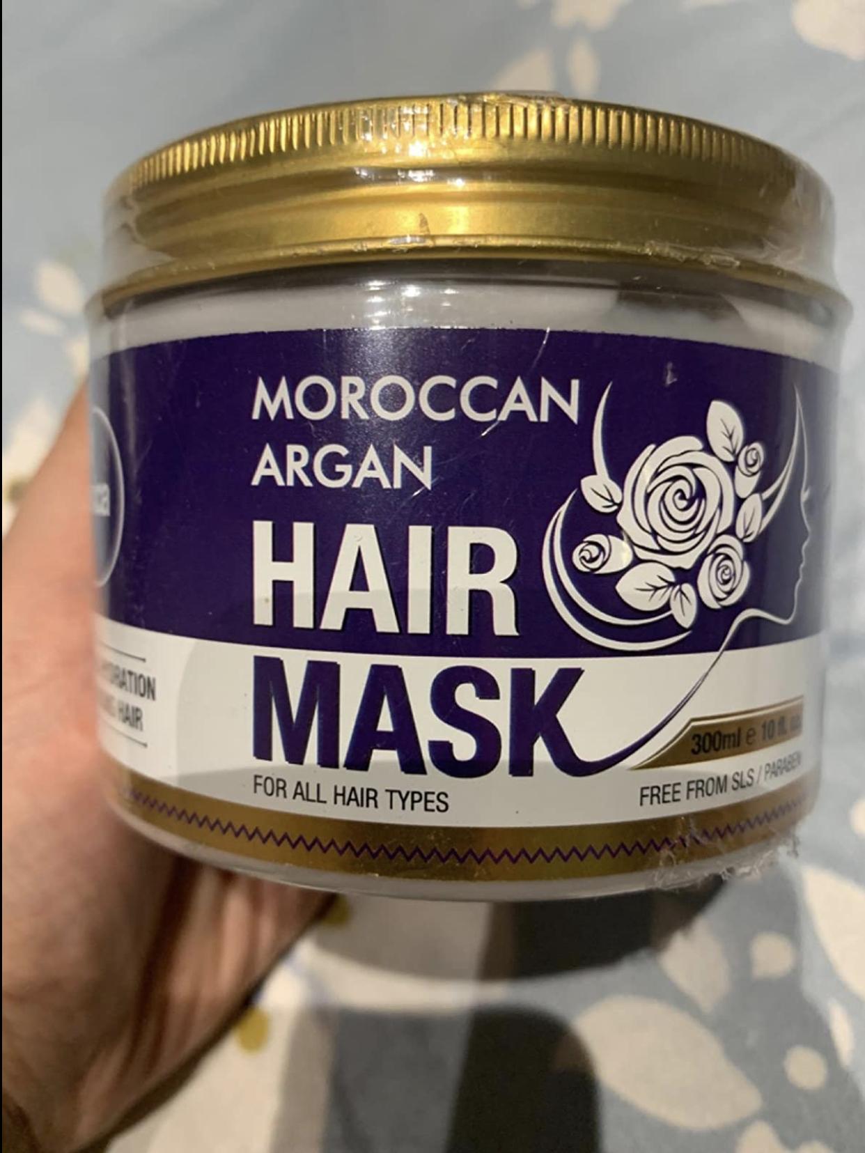 St.Botanica Moroccan Argan Hair Mask-Amazing product-By shivani_makkar-2