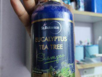 St.Botanica Eucalyptus & Tea Tree Dry Hair Repair Shampoo -Perfect Anti-Dandruff shampoo-By shyamlata_dubey