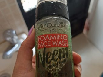 WishCare Foaming Neem Face Wash -but you can try it-By s_s