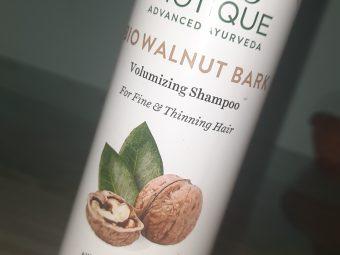 Biotique Bio Walnut Bark Volumizing Shampoo For Fine & Thinning Hair -Love the fragrance and it works-By mansishimpi