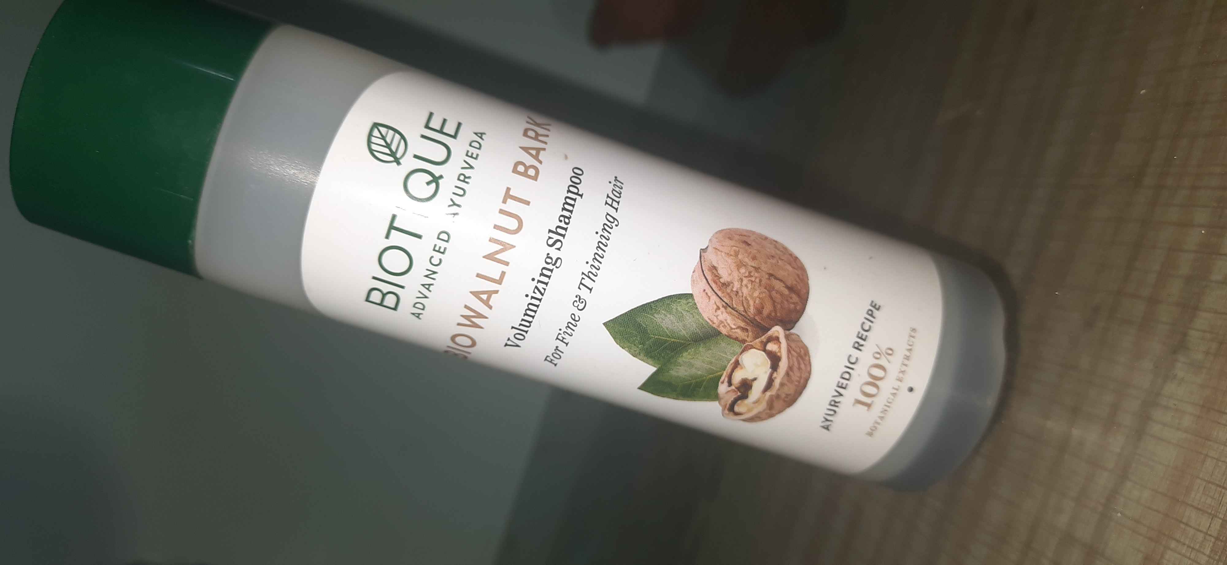 Biotique Bio Walnut Bark Volumizing Shampoo For Fine & Thinning Hair -Love the fragrance and it works-By mansishimpi