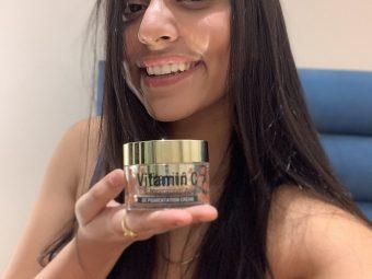 St.Botanica Vitamin C, E & Hyaluronic Acid DePigmentation Cream -Anti pigmentation cream-By sushmitaprasad