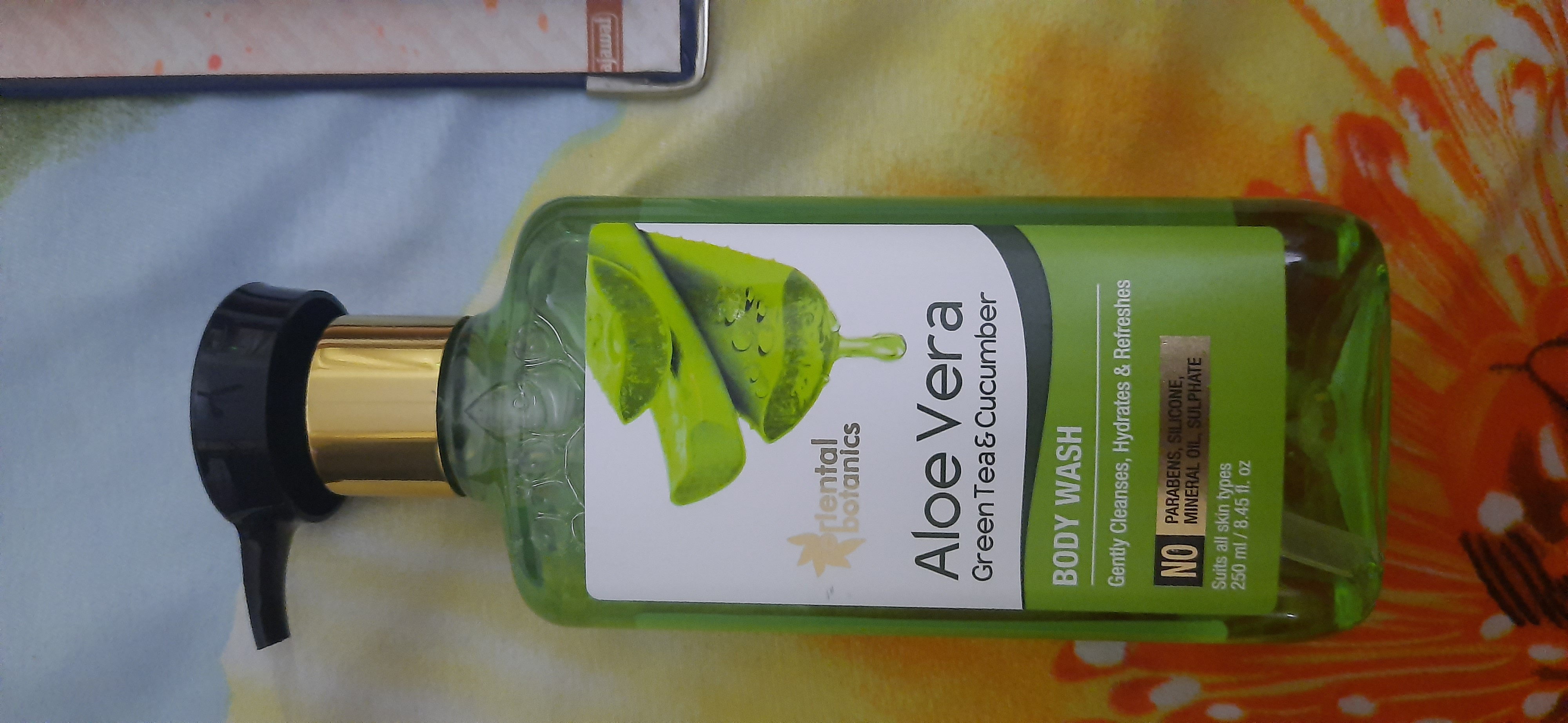 Oriental Botanics Aloe Vera Green Tea & Cucumber Body Wash-Amazing body wash-By nikitha_sancheti