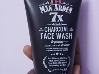 Man Arden 7X Activated Charcoal Face Wash Brightening -Very good face wash-By tasty_cousin