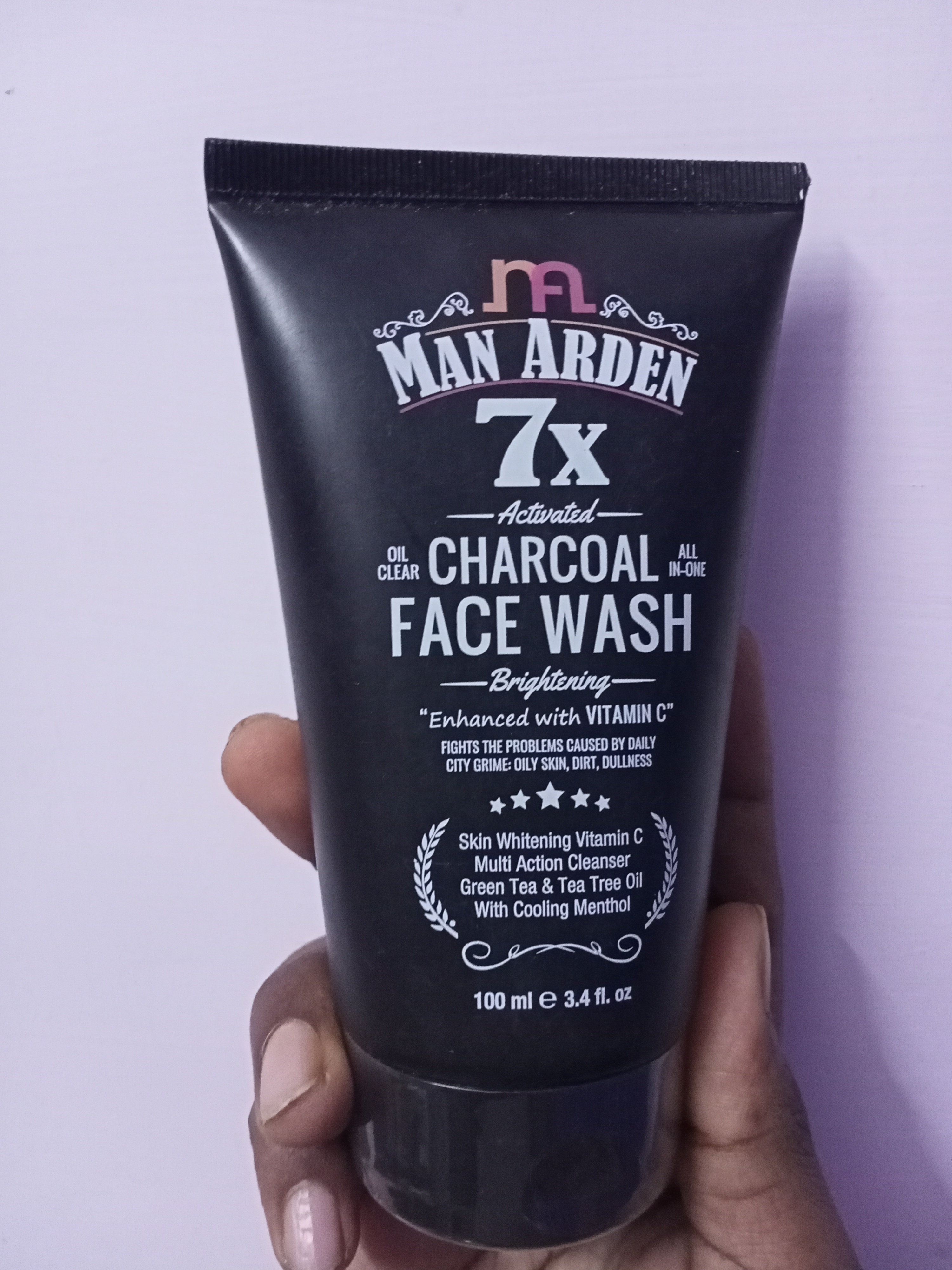 Man Arden 7X Activated Charcoal Face Wash Brightening-Very good face wash-By tasty_cousin