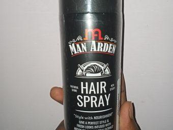 Man Arden Hair Spray -amazing hair spray-By tasty_cousin