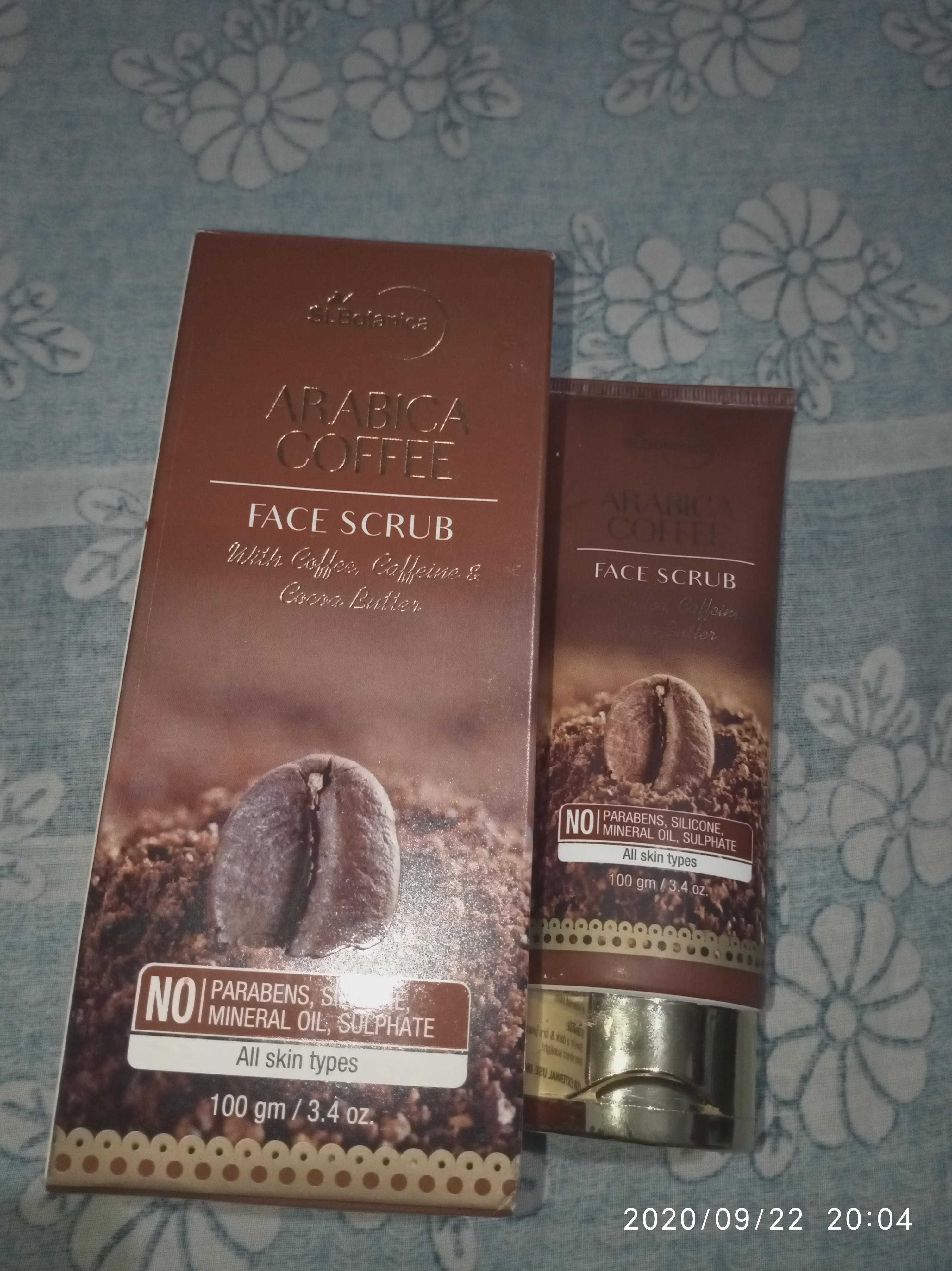 St.Botanica Arabica Coffee Face Scrub-Amazing products-By kumari_nisha