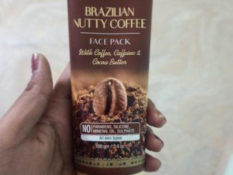 St.Botanica Brazilian Nutty Coffee Face Mask -Loving this face mask-By rishitashivhare