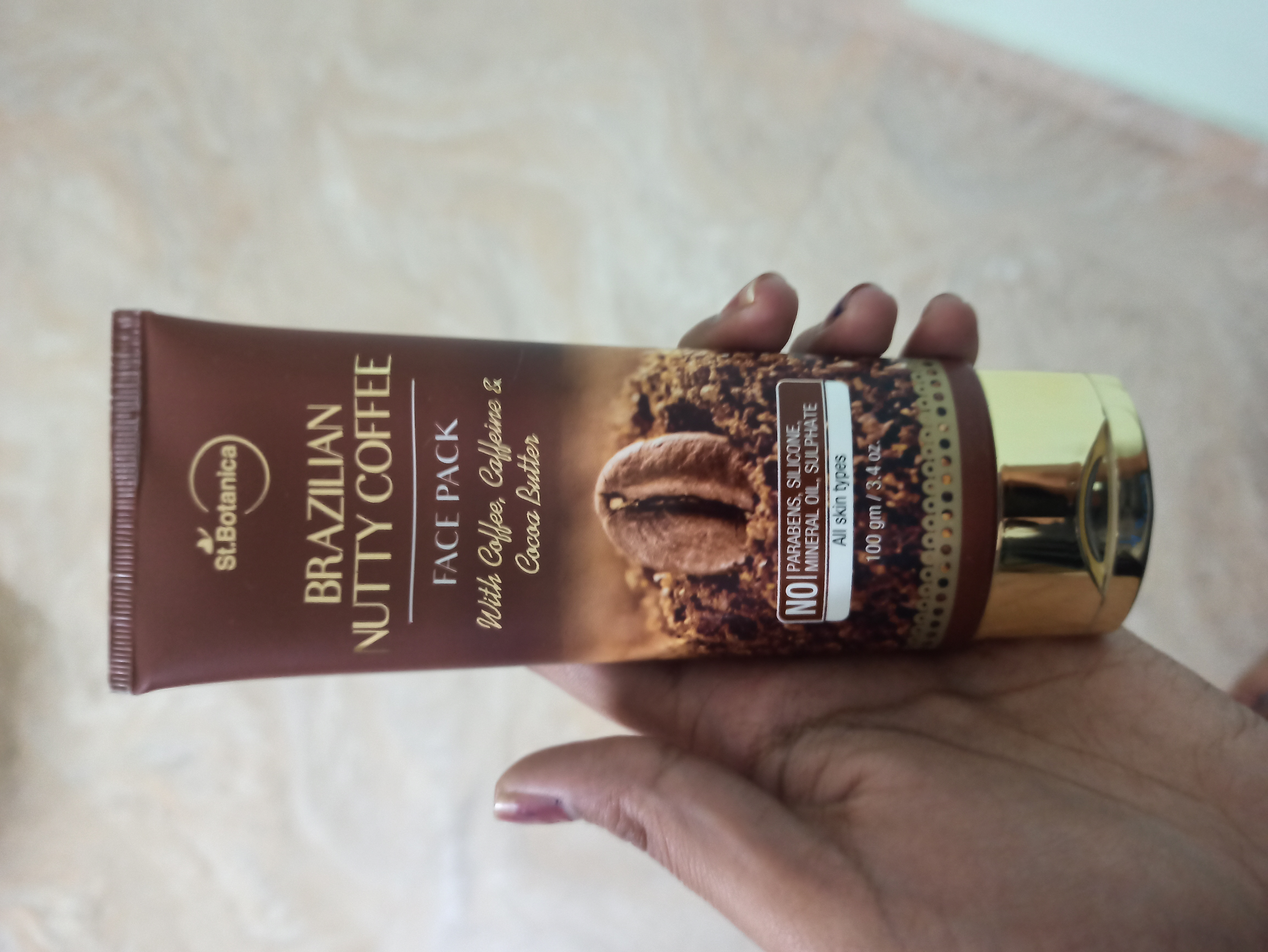 St.Botanica Brazilian Nutty Coffee Face Mask-Loving this face mask-By rishitashivhare