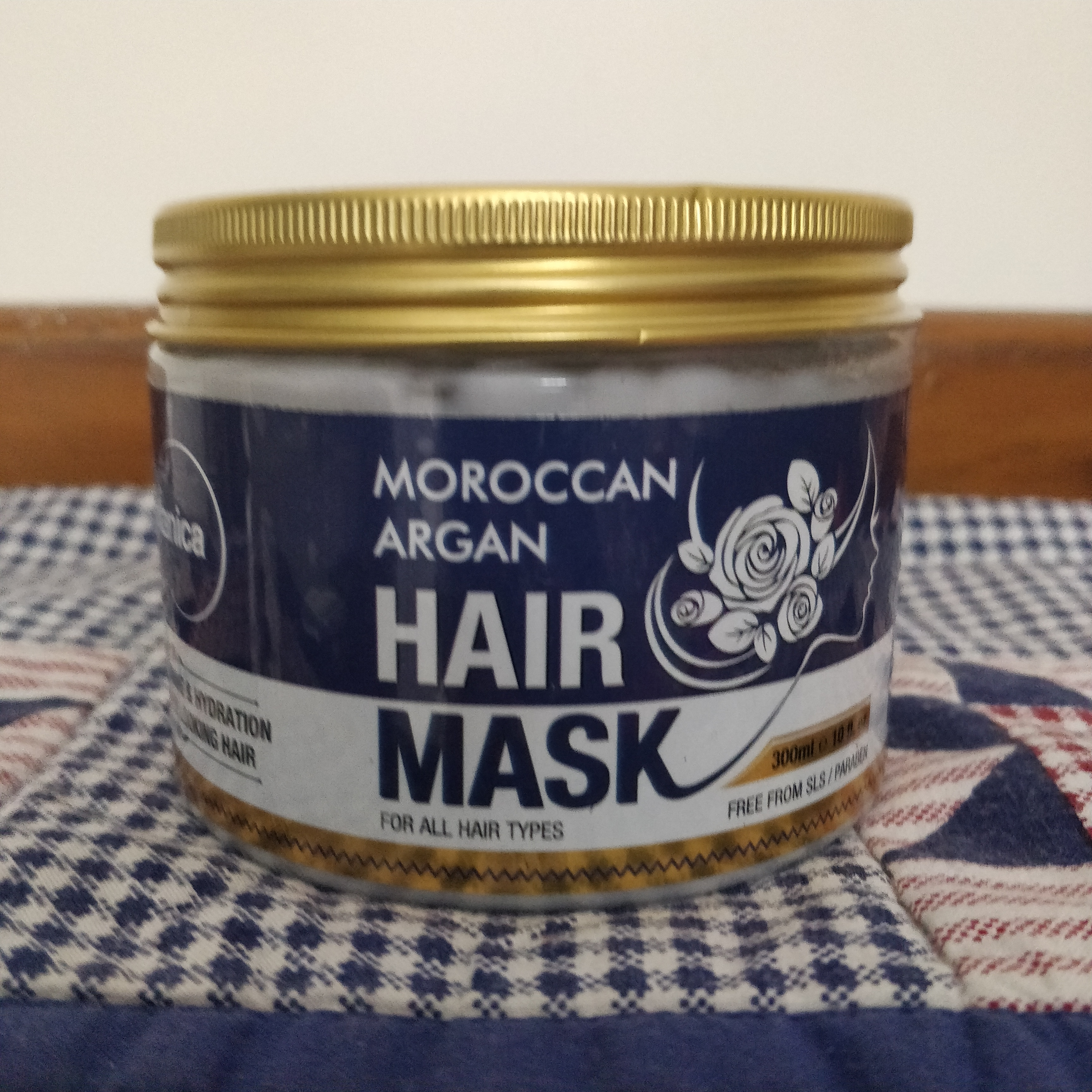 St.Botanica Moroccan Argan Hair Mask -Great for chemical treated hair-By mjolly