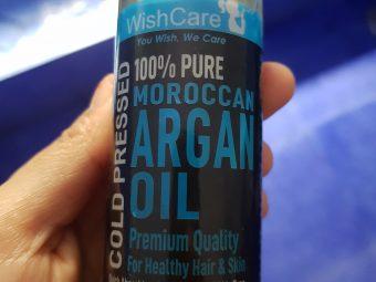 WishCare Pure Cold Pressed Moroccan Argan Oil -Pure argan oil-By priyanka_dhadha