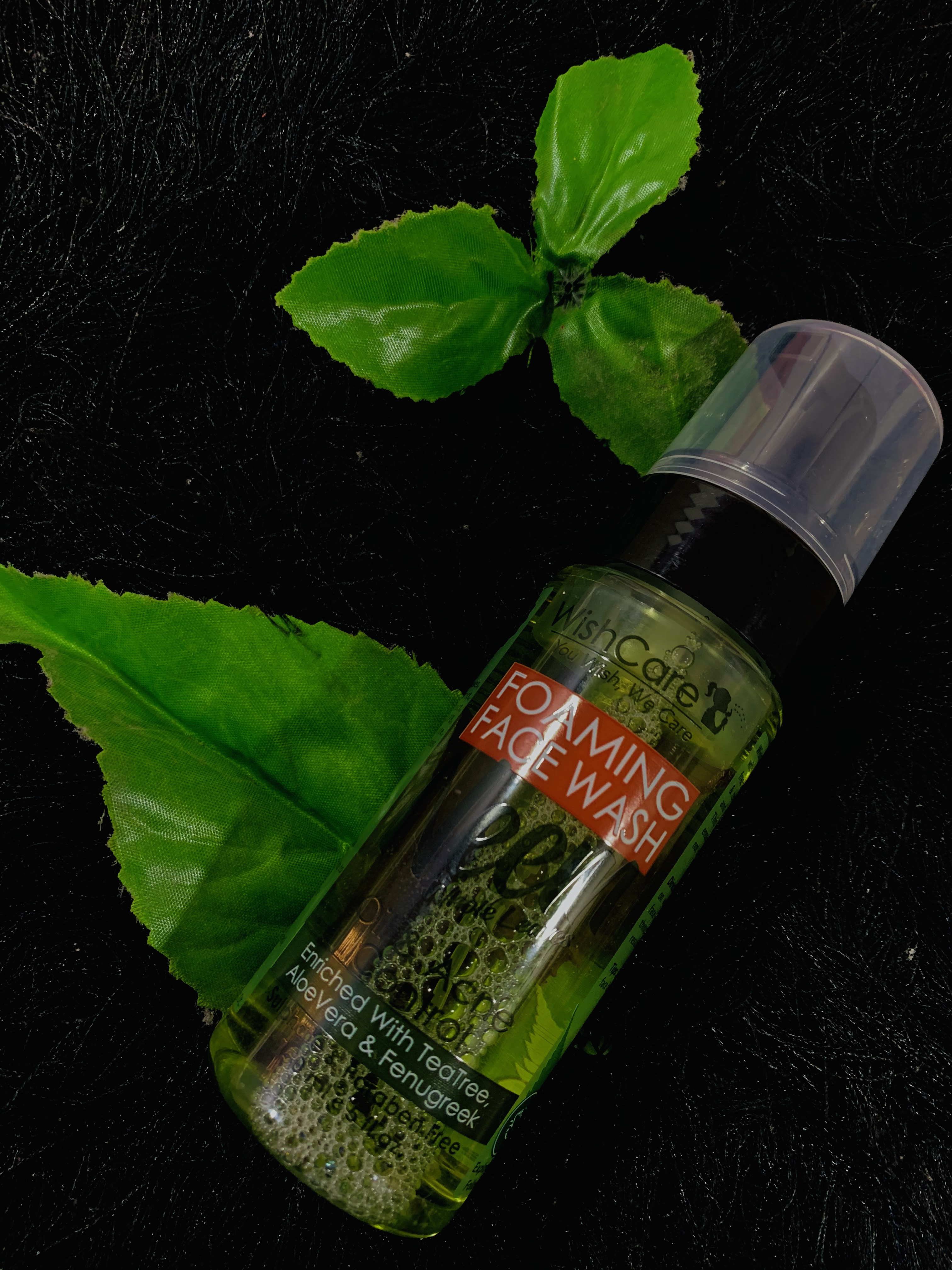 WishCare Foaming Neem Face Wash -Foam Face Washes are better than the others-By anmol_mulchandani