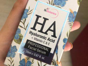 St.Botanica Hyaluronic Acid Facial Serum + Vitamin C, E -Does wonders on skin!!!-By abhipriya_sagar