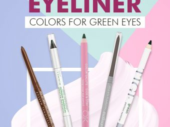 20 Best Eyeliner Colors For Green Eyes