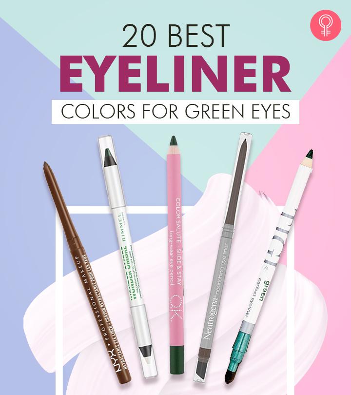 20 Best Eyeliner Colors For Green Eyes