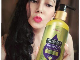 St.Botanica Pro Keratin & Argan Oil Shampoo -Best Shampoo for Dull-By payal_banerjee
