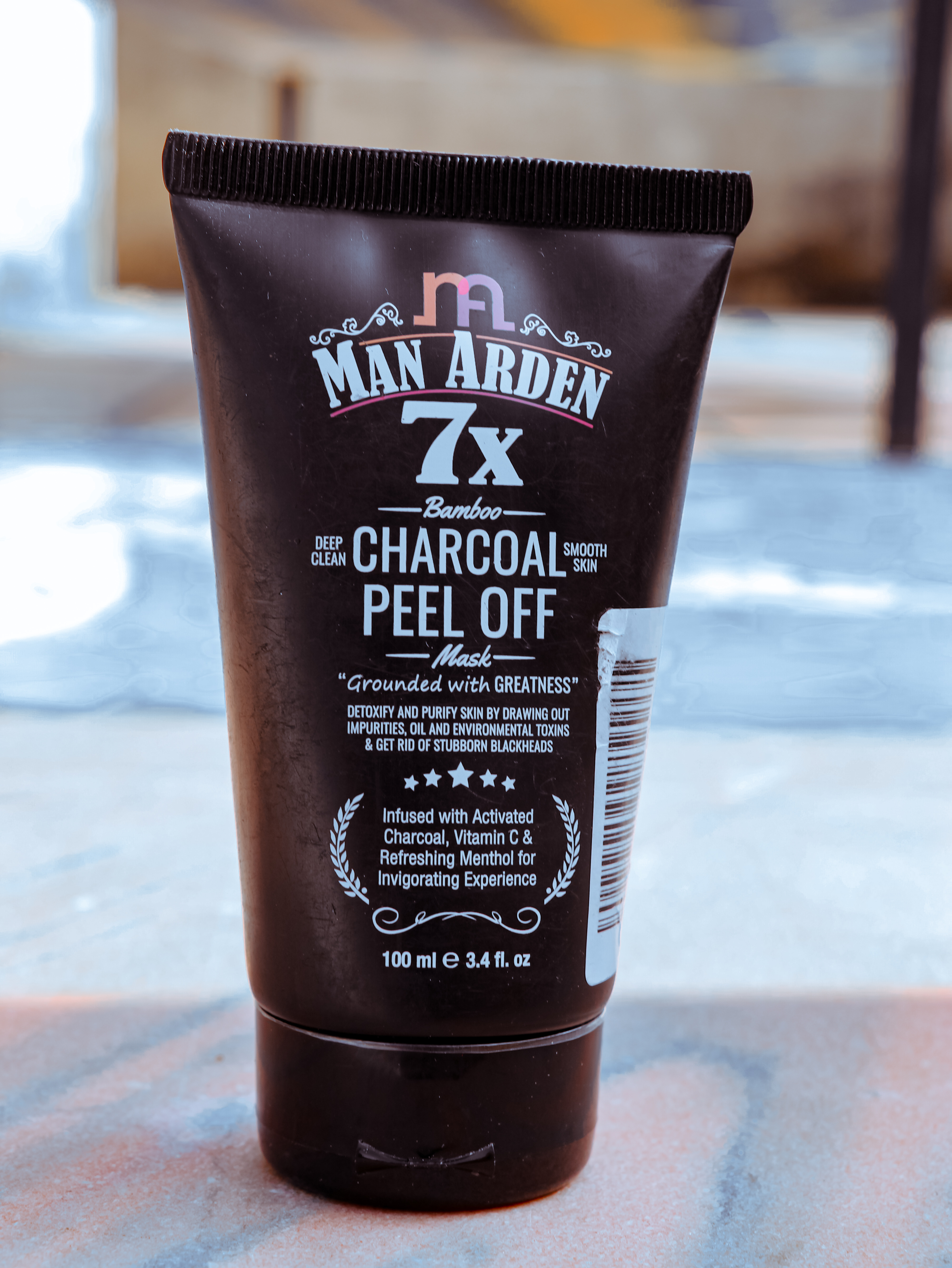 Man Arden 7X Activated Charcoal Peel Off Mask -Effective and Awsome Product-By the_photo_boy01