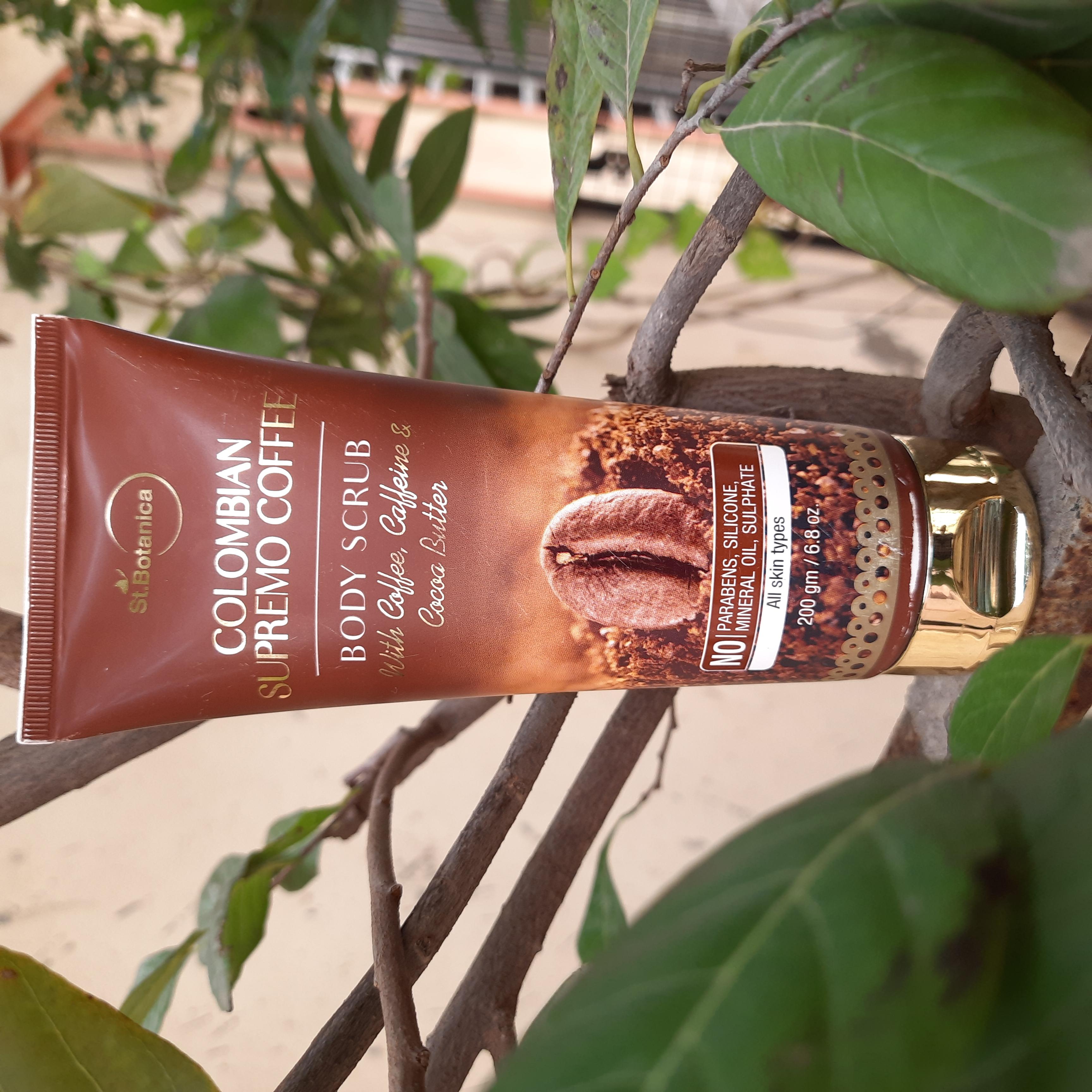 St.Botanica Arabica Coffee Face Scrub-Highly recommended-By supriyaprasad12