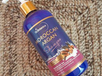StBotanica Moroccan Argan Hair Shampoo -Nice Shampoo but more suitable for dry hair-By jaya_sathaye