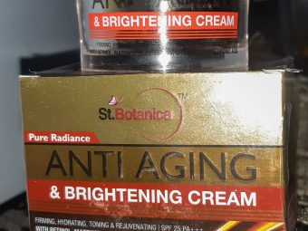 St.Botanica Pure Radiance Anti Aging & Brightening Cream pic 3-Such a great product-By sushmita_singh_