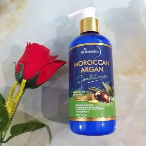 St.Botanica Moroccan Argan Hair Conditioner -Great for normal to oily hair-By purnima_the_review_hut