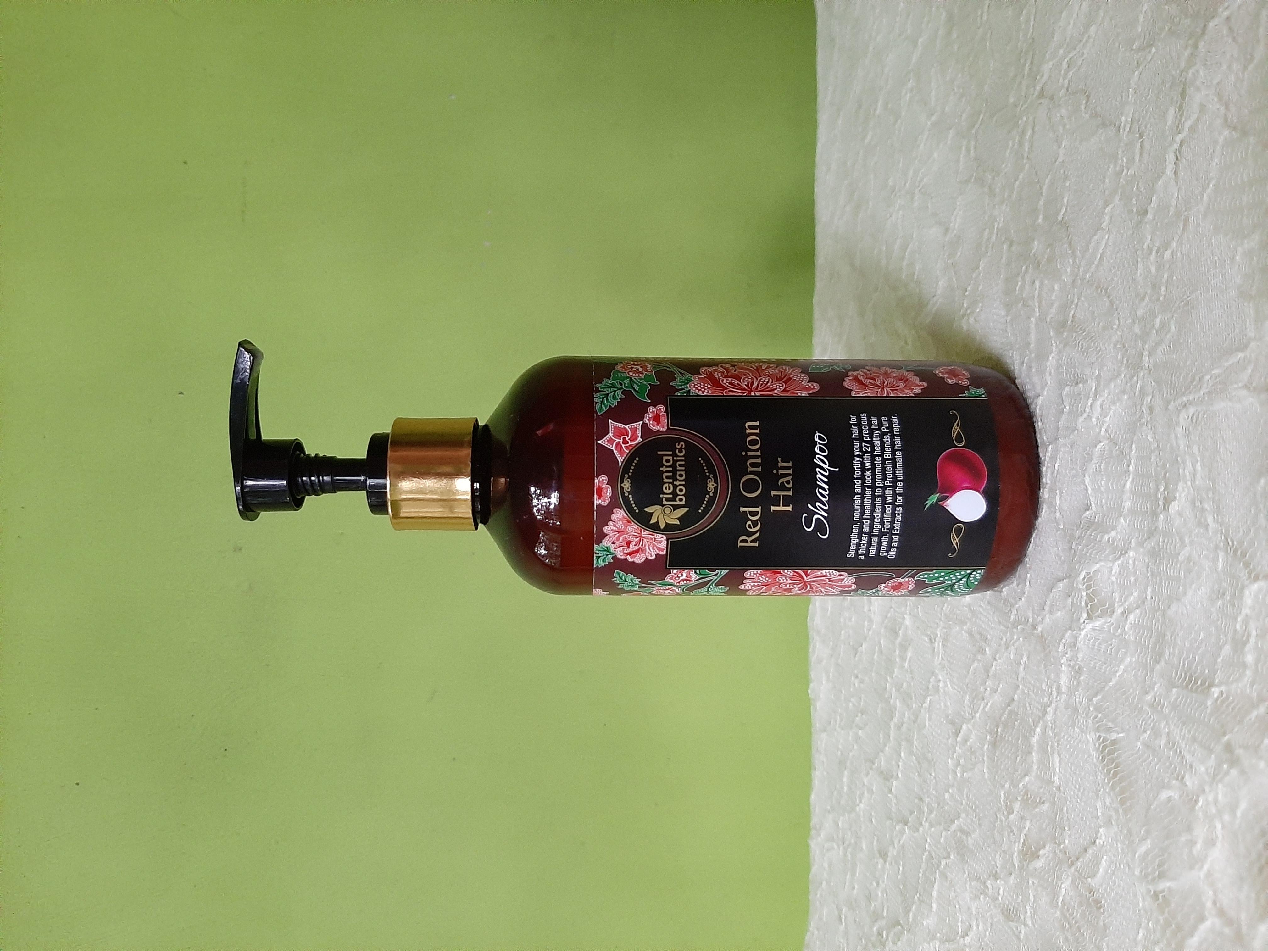 Oriental Botanics Red Onion Hair Shampoo-Great Affordable shampoo-By basictobling-3